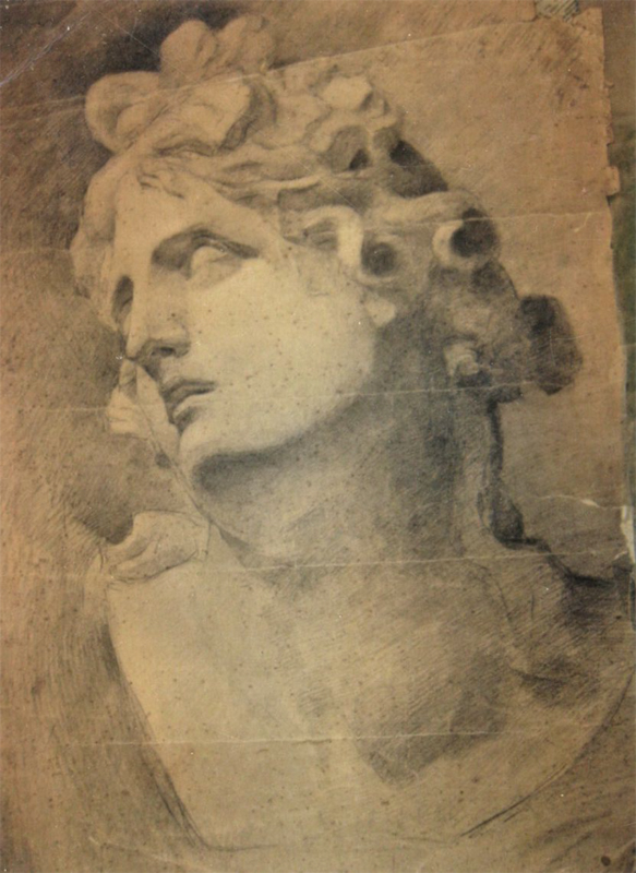 Drawing pencil on paper - 1918