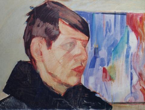 Лизак Израиль «Портрет К.П. Янова» 1926 г.